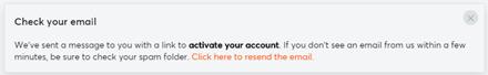 Bitcasino mail verification